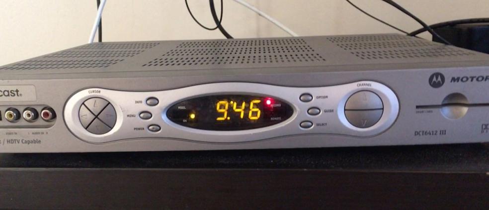 Grandfather's DVR