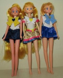 sailor moon dolls